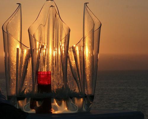 Solpor in vidrio