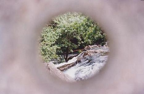 A pedra do rio